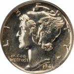 1941 Mercury Dime. Proof-65 (PCGS). OGH.