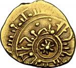 Monete e Medaglie di Zecche Italiane, Palermo o Messina.  Tancredi (1189-1194). Tarì con stella ad o