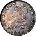 1818 Capped Bust Quarter. B-2. Rarity-1. MS-65 (NGC).