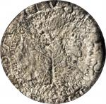 1652 Pine Tree Shilling. Large Planchet. Noe-2, Salmon 2-C, W-700. Rarity-4. Without Pellets at Trun