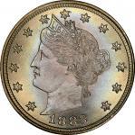 1883 Liberty Head Nickel. No CENTS. MS-67 (PCGS).