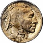 1914/(3) Buffalo Nickel. FS-101. MS-64 (PCGS).