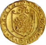 ITALY. Venice. Scudo dOro, ND (1523-39). Andrea Gritti. NGC MS-66.