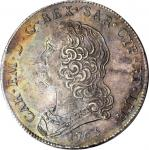 ITALY. Sardinia. Scudo, 1765. Carlo Emanuelle III (1730-73). PCGS MS-61 Gold Shield.