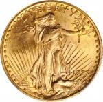 1923圣高登双鹰金币 PCGS MS 64