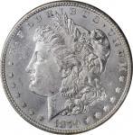 1879-S Morgan Silver Dollar. Reverse of 1878. Top 100 Variety. MS-64 (NGC).