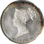 ITALY. Parma. 5 Lire, 1815. Maria Luigia. NGC MS-60.