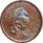 IRELAND. Penny, 1805. Soho (Birmingham) Mint. George III. PCGS MS-66 Brown Gold Shield.