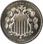 1879 Shield Nickel. Proof-67 Cameo (PCGS). CAC.