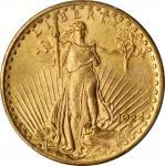 1924 Saint-Gaudens Double Eagle. Unc Details--Cleaned (PCGS).