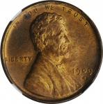1909-S Lincoln Cent. V.D.B. MS-64 RB (NGC).