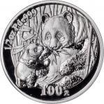 CHINA. 100 Yuan, 2005. Panda Series. PCGS PROOF-69 DEEP CAMEO.