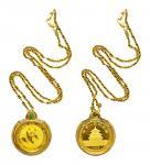 1988年熊猫纪念金币1/2盎司 极美