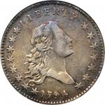 1794 Flowing Hair Half Dollar. O-106, T-4. Rarity-6-. EF-40 (NGC).