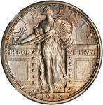 1917-S Standing Liberty Quarter. Type I. MS-64 FH (NGC).