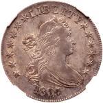 1807 Draped Bust Half Dollar. NGC MS63