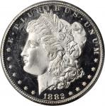 1882-CC Morgan Silver Dollar. MS-66 DMPL (PCGS).