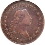 1794 Flowing Hair Half Dollar. NGC VG10