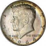 1964-D Kennedy Half Dollar. MS-66+ (PCGS).