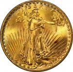 1927-S Saint-Gaudens Double Eagle. MS-67 (PCGS). CAC.