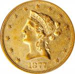 1877-S Liberty Head Eagle. AU-55 (NGC).