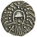 Early Anglo-Saxon England, Secondary Phase (c. 710-760), Sceat, Annulet Cross type, 1.15g, 12h, Odin