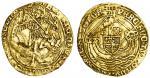 Henry VII (1485-1509), Angel, class IIA/B mule, 5.08g, mm. -, henric di gra rex angl z franc dns, tr
