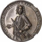 1739 Admiral Vernon Medal. Porto Bello Medals with Vernons Portrait Alone. Copper. 27 mm. Adams-Chao