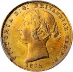 AUSTRALIA. 1/2 Sovereign, 1862-S. Sydney Mint. Victoria. PCGS MS-61 Gold Shield.