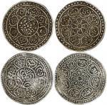 1895-1918西藏银币二枚一组,均评PCGS XF45, 出自罗德斯集藏