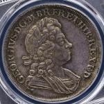 GREAT BRITAIN George I ジョージ1世(1714~27) Crown 1723SSC  PCGS-MS64 UNC
