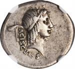 TRAJAN, A.D. 98-117. AR Denarius (3.11 gms), Rome Mint, A.D. 112-113. NGC Ch VF*, Strike: 5/5 Surfac