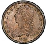 1838 Capped Bust Quarter. Browning-1. Rarity-1. Mint State-65 (PCGS).PCGS Population: 6, 1 finer (MS