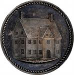 Undated (1881) Pynchon House medal by J.A. Bolen. Silver. 25.3 mm. 163.6 grains. Musante JAB-39. MS-