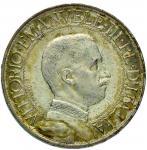 Savoy Coins;Vittorio Emanuele III (1900-1946) 2 Lire 1910 - Nomisma 1159 AG R Minimo colpetto al bor