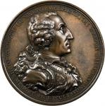 1805 Washington Eccleston Medal. Bronze. 75.8 mm. By Thomas Webb for Daniel Eccleston. Musante GW-88