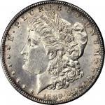 1889-CC Morgan Silver Dollar. AU-58 (PCGS).