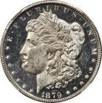 1879-CC Morgan Silver Dollar. VAM-3. Top 100 Variety. Capped Die. MS-62 DPL (NGC).