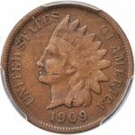1909-S Indian Cent. Fine-15 (PCGS).
