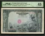 PORTUGAL. Banco de Portugal. 50 Mil Reis, 1904-10. P-85. PMG Choice Extremely Fine 45.
