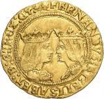 Espagne  Ferdinand V et Isabelle, dits les Rois Catholiques, 1469-1504.