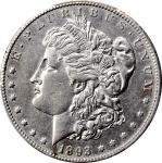 1893-CC Morgan Silver Dollar. AU Details--Cleaned (PCGS).