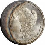 1879-CC Morgan Silver Dollar. Clear CC. MS-66 (PCGS).