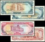 Banco Central de la Republica Dominicana, 500 Pesos Oro, 1998, A323436R, 1000 Pesos Oro, 1997, A7806