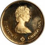 1976年加拿大100元。BRILLIANT PROOF.