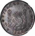 MEXICO. 8 Reales, 1762-MoMM. Charles III (1759-88). NGC MS-62.