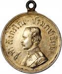 1897年泰国拉玛五世Rajaruchi鎏金银章。1897 เหรียญเงินที่ระลึก รัชกาลที่ 5