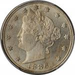 1886 Liberty Head Nickel. MS-65 (PCGS).