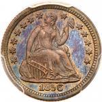 1856 Liberty Seated Half Dime. PCGS PF65