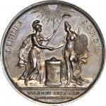 1782 Holland Receives John Adams Medal. Betts-603. Silver. Specimen-63 (PCGS).